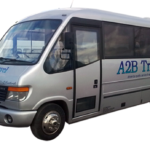 football minibus hire in West Kirby.