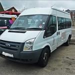 minibus in Ellesmere Port