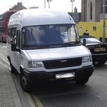 Minibus in Wallasey